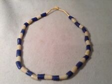 Native American Trade Bead Necklace Early Strand Of Hand Made Glass