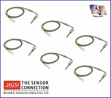Fast Response Exhaust Gas Temperature EGT Probe Sensor Compression Fitting x6