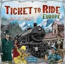 Days of Wonder: Ticket to Ride Europe Board Game (New)