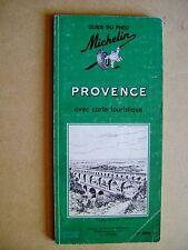 Livre Guide Michelin  Provence avec carte touristique /C35