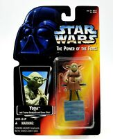 Star Wars The Power of The Force (Red) - Yoda Action Figure