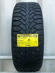 205/55R16 NOKIAN HAKKAPELIITA 4 ECO STUD 4 SYSTEM 94T XL Part worn tyre (W626)