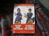 """COF 2 DVD NEUF """"LA FLIC CHEZ LES POULETS / A LA POLICE DES MOEURS"""" Edwige FENECH"""