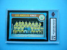 1979/80 O-PEE-CHEE NHL HOCKEY CARD #250 LOS ANGELES KINGS CHECKLIST KSA 8.5 OPC