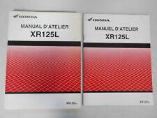 MANUEL D'ATELIER + 1 SUPPLEMENT HONDA XR125L  2003 2004
