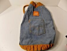 Levi Vintage Orange Tag Denim Cross Body Pack Unique from 1976 Montreal Olympics