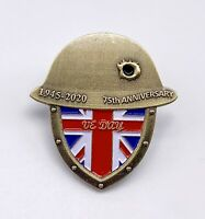 2020 VE Day  75 Years Anniversary Victory In Europe Veterans Pin Badge Brooch