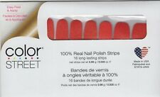 CS Nail Strips Heat Wave Exclusive 100% Nail Polish - USA Made!