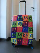 """Hartschalenkoffer Trolley Saxoline blue """" Cats """" 67 cm Größe M NEU"""