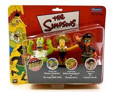The Simpsons Bongo Comics Exclusive Homer, Edna & Apu Action Figure 3-Pack