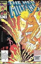 The New Mutants Comic Book #11, Marvel Comics 1984 VERY FINE/NEAR MINT UNREAD