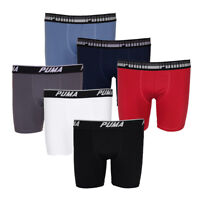 Puma Men's 3-Pack Tech Boxer Briefs