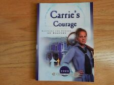 EUC Excellent Condition Carrie's Courage 1923 Sisters in Time Book
