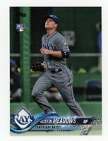 2018 Topps Update AUSTIN MEADOWS Rookie Card RC PHOTO VARIATION SUPER SSP #US34