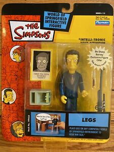 Legs Simpsons Action Figure Playmates Series 13 2003