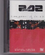 Front 242-RC 300 T Live minidisc album