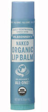 Dr Bronner's Magic All One Organic Lip Balm Naked 4g Made with Organic Beeswax