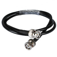 BNC Male to BNC Male Pigtail Cable RG58 3m for Oscilloscope and Signal Generator