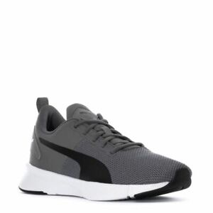 PUMA FLYER RUNNER LOW SNEAKERS TRAINERS SPORTS MEN SHOES GREY/BLACK SIZE 11 NEW