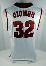 2011-12 Alabama Crimson Tide Retin Ojomoh #32 Game Used White Jersey Bama00207