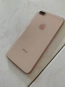 Iphone 8+ Plus 256gb Gold Rose Att AT&T and Accessories
