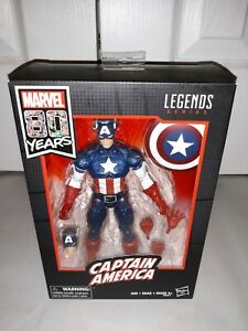 Marvel Legends 80 Years Captain America WWII 2018 Wal-Mart Exclusive NEW! RARE!