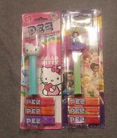 Hello Kitty and Disney Fairy PEZ Dispensers