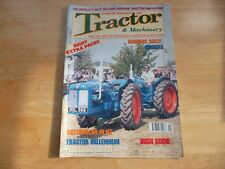 TRACTOR & MACHINERY MAG V6#10 SEPT 2000 BORDERS RALLY BINDERS IRIISH SCENE