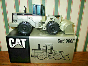 Caterpillar 966F Wheel Loader Anniversary Silver Edition By NZG 1/50th Scale