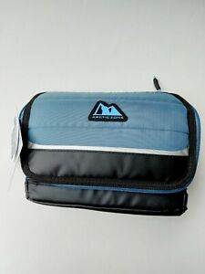 Collapsible Cooler/ Lunch Bag by Arctic Zone w/ Antimicrobial Protection, 6 Can