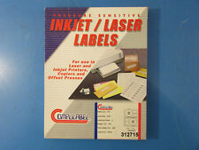 "Compulabel 312715 CD/DVD/Blu-Ray Blank Laser Inkjet 4.64"" Labels (48 Sheets"