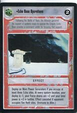 Star Wars CCG Hoth Black Border Echo Base Operations