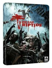 Dead Island Riptide Limited Edition Steelbook Xbox 360( Includes Game) Brand New
