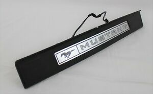 Illuminated Sill Scuff step Trim Plate LH driver fits 2015-2021 Ford Mustang
