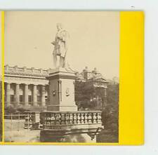 B2043 Wilson 601 Allan Ramsay's Statue Edinburgh Scotland D