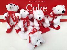 5  Orsetti Peluches Coca Cola Coke Cocacola