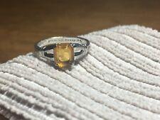 November Birthstone Ring Size 7