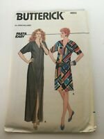 Butterick Sewing Pattern 4603 Fast & Easy Straight Dress Dolman Sleeves Sz 6-22