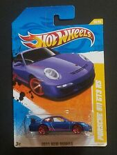 Hot Wheels, Porsche 911 GT3 RS, 2011 New Models, Blue Version, NM, (SEALED)