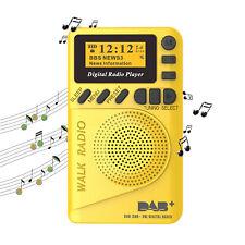 Small Portable Mini Pocket DAB/DAB+ Digital Radio + MP3 Player + FM Radio Pro NE