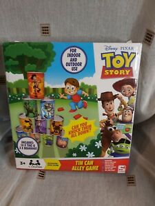 Disney Pixar Toy Story Children Tin Can Alley Game Indoor or Outdoor Family Fun