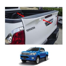 2015 2016 17 Tailgate Cap Duck Tail Spoiler Painted 1Pc On Toyota Hilux Revo SR5
