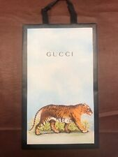 """NEW Gucci Shopping Bag With Tiger Design 9"""" X 15"""" X 3"""""""