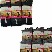 1 Or 3 Pairs X Explorer Original Womens Wool Blend Crew Camping Tough Socks