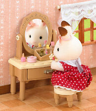 BNIB Sylvanian Families 5031 Girl's Dressing Table set Dollhouse furniture