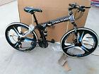 26'' Folding Mountain Bike Shimanos 21 Speed Bicycles Full Suspension MTB Bikes