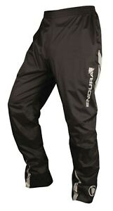 Endura Luminate Black Waterproof Mens Cycling Nylon Pants Trousers Size Large