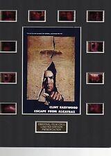 Escape From Alcatraz 35mm Film Cell Display