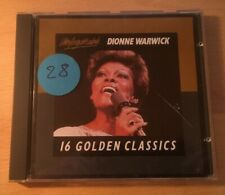 """Dionne Warwick """"16 Golden Classics"""" CD *Castle UNCD5* 1986 VGC *Posted From UK*"""