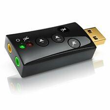 CSL - Scheda Audio USB Esterna Windows Mac stereo virtual 7.1